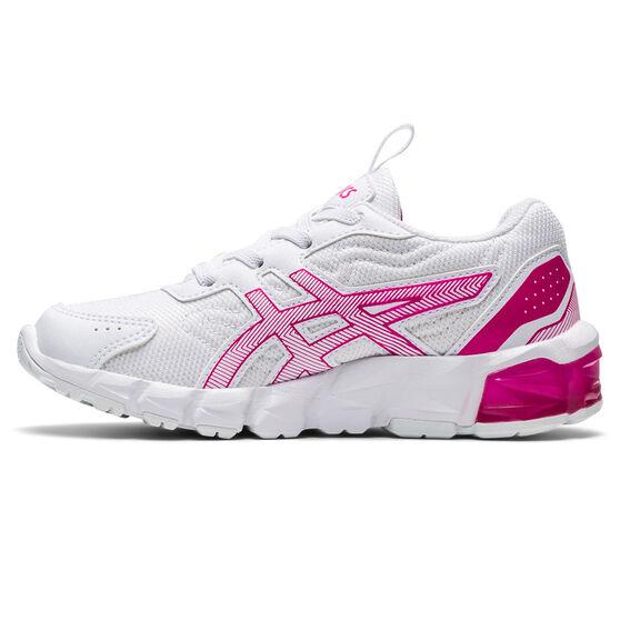 Asics GEL Quantum 90 2 Kids Casual Shoes, White/Pink, rebel_hi-res