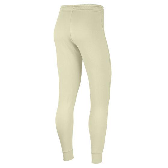 Nike Womens Sportswear Essentials Fleece Track Pants, White, rebel_hi-res