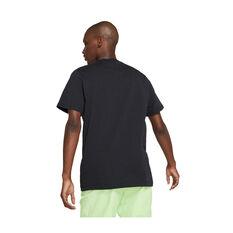 Nike Air Mens Sportswear Brand Alternate Tee Black XS, Black, rebel_hi-res