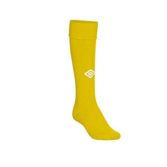 Umbro Mens League Socks, Yellow, rebel_hi-res