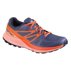 Salomon Sense Escape Womens Trail Running Shoes Purple / Coral US 6, Purple / Coral, rebel_hi-res