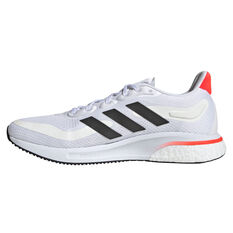 adidas Supernova Mens Running Shoes White/Black US 7, White/Black, rebel_hi-res