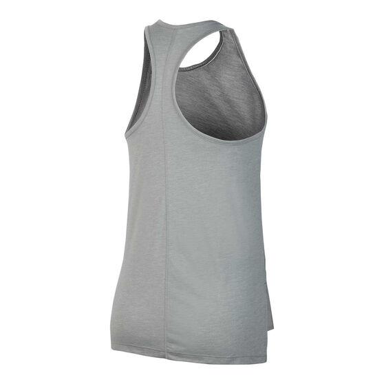 Nike Womens Yoga Tank, Grey, rebel_hi-res