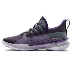Under Armour International Womens Day Curry 7 Basketball Shoes Purple US 6, Purple, rebel_hi-res