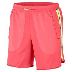 Nike Mens Wild Run 7in Running Shorts Red S, Red, rebel_hi-res