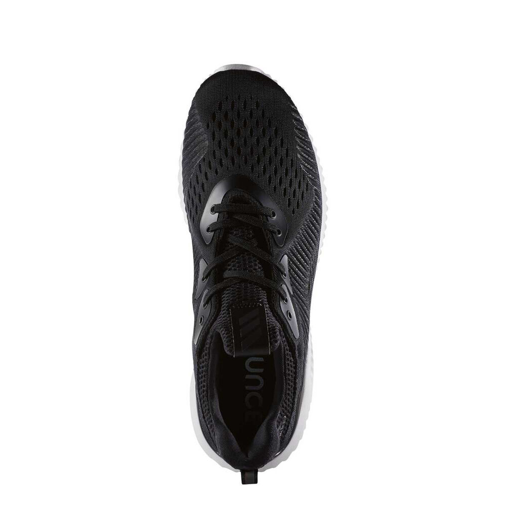 d37ca8f1fb525 adidas AlphaBounce EM Mens Running Shoes Black   White US 9.5 ...