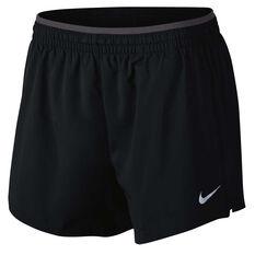 Nike Womens Flex Elevate 5in Running Shorts Black / Grey XS, Black / Grey, rebel_hi-res