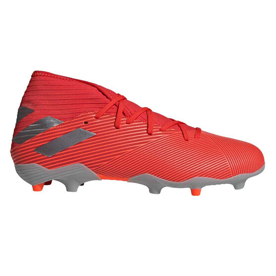 adidas Nemeziz 19.3 Football Boots, Red / Silver, rebel_hi-res