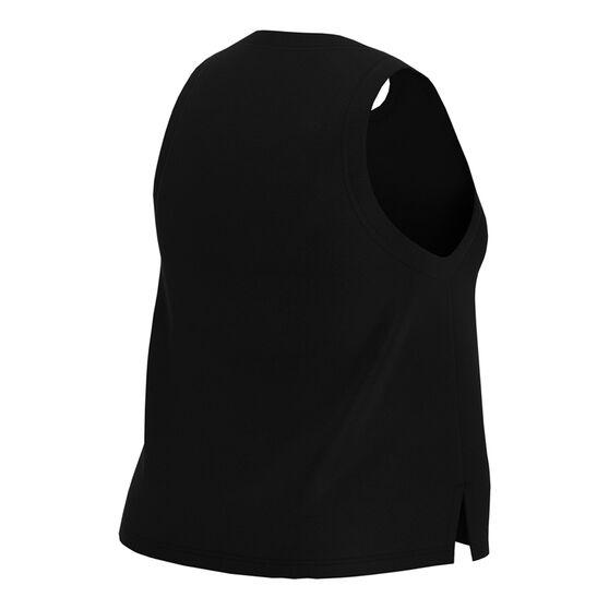 Nike Womens Dri-Fit Training Tank Plus, Black, rebel_hi-res