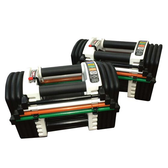 PowerBlock U90 Stage 1 Adjustable Dumbbell 1 - 22kg, , rebel_hi-res