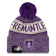Fremantle Dockers New Era Authentic Knit Beanie, , rebel_hi-res
