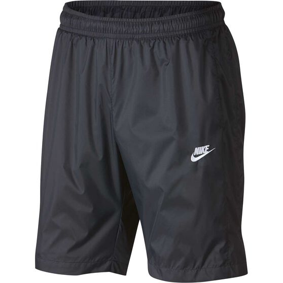 Nike Mens Sportswear Woven Shorts, Black, rebel_hi-res