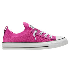 Converse Chuck Taylor All Star Shoreline Knit Low Top Womens Casual Shoes Pink/Black US 5, Pink/Black, rebel_hi-res