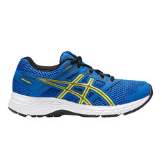 Asics Gel Contend 5 Kids Training Shoes Blue US 4, Blue, rebel_hi-res