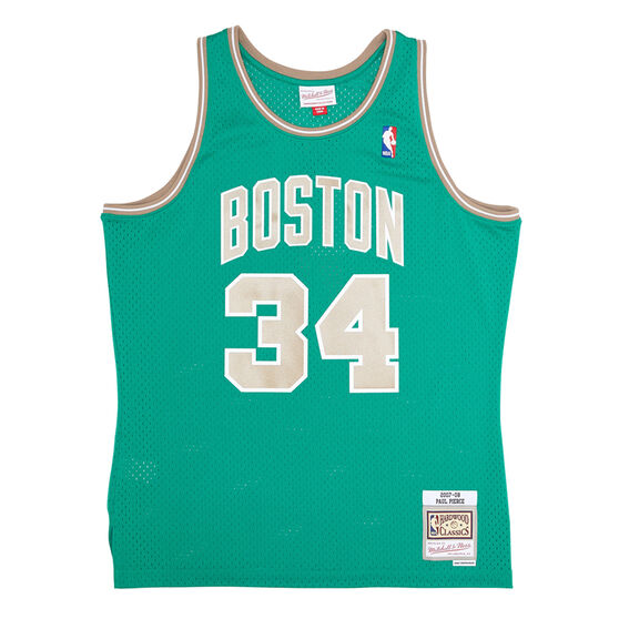 Mitchell & Ness Boston Celtics Paul Pierce St Patricks Mens Swingman Jersey, , rebel_hi-res