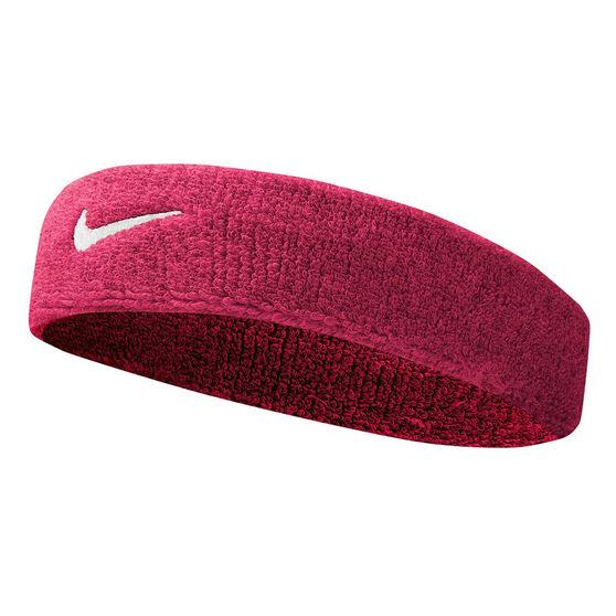 Nike Tennis Headband Pink OSFA, Pink, rebel_hi-res