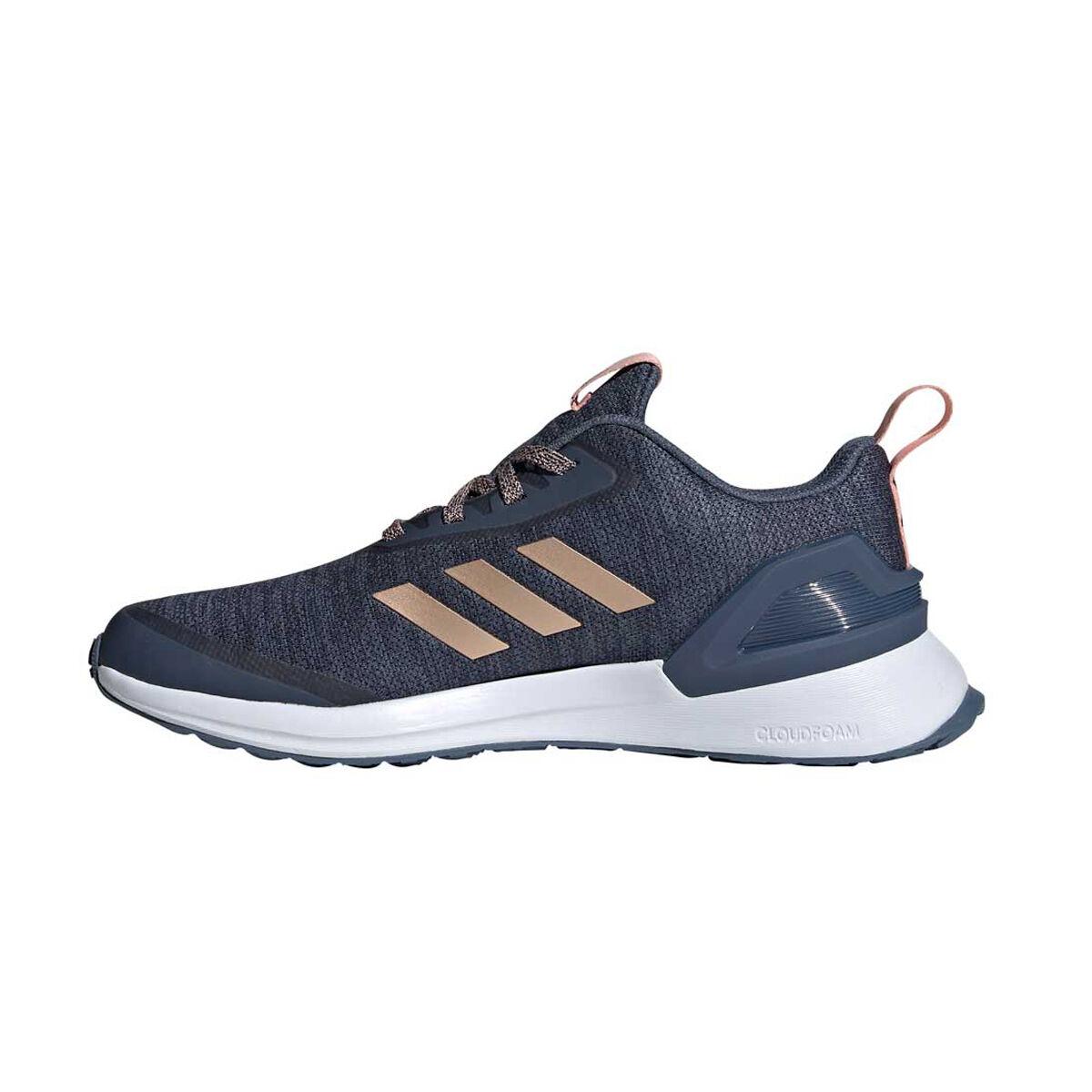 adidas RapidaRun X Kids Running Shoes Blue Pink US 6