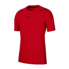 Nike Mens Pro Short Sleeve Tee Black S, , rebel_hi-res