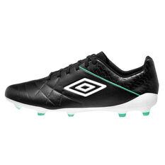 Umbro Medusae III Pro Football Boots Black / White US Mens 7 / Womens 8.5, Black / White, rebel_hi-res