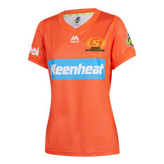 Perth Scorchers 2019/20 Womens WBBL Onfield Jersey, Orange, rebel_hi-res