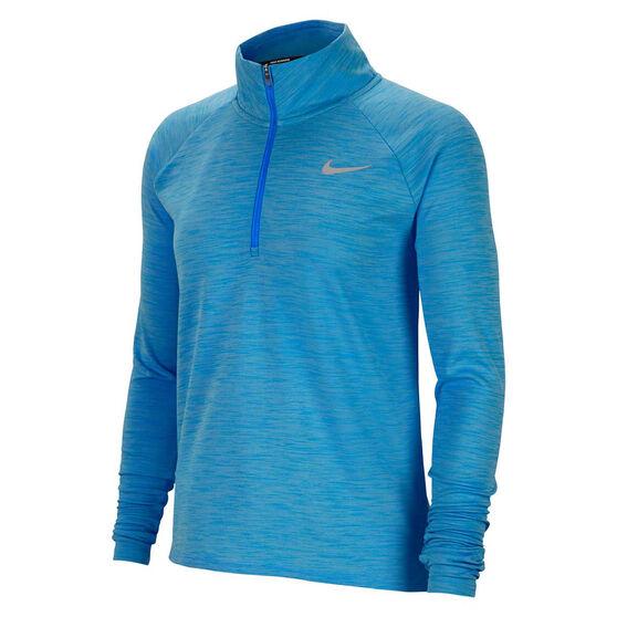 Nike Womens Pacer 1/2 Zip Running Top, , rebel_hi-res