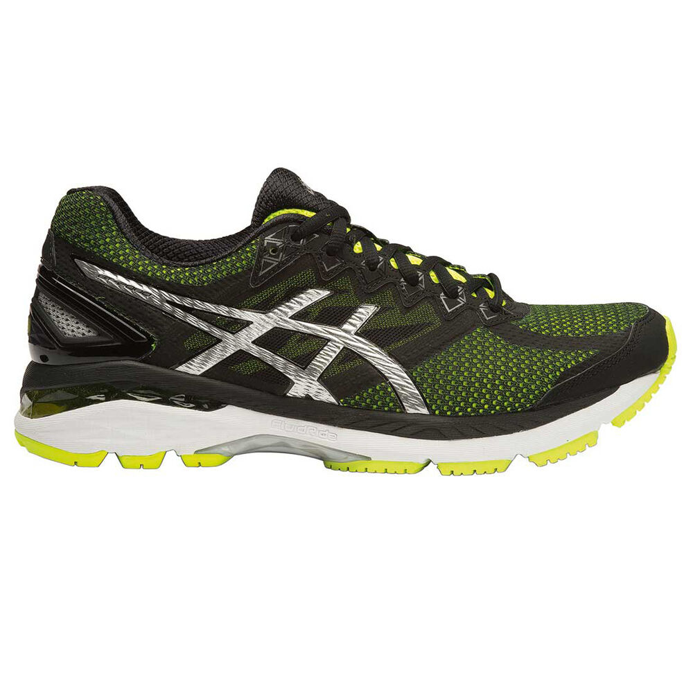 Asics GT 2000 4 (2E) Mens Running Shoes Yellow   Black US 7  8b0e2b897d