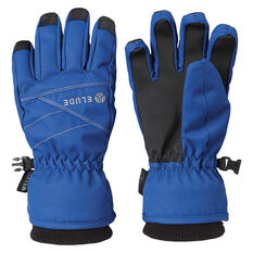 Elude Boys New Icon Gloves Blue 4, Blue, rebel_hi-res