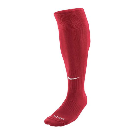 Nike Dri FIT Classic Football Socks, Red, rebel_hi-res