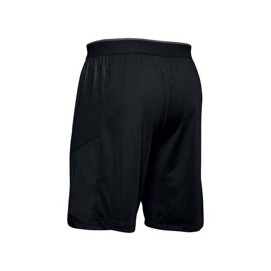 Under Armour Mens MK-1 Emboss Shorts, Black, rebel_hi-res