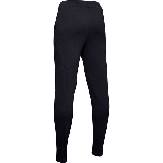 Under Armour Boys Rival Training Pants, Black / White, rebel_hi-res