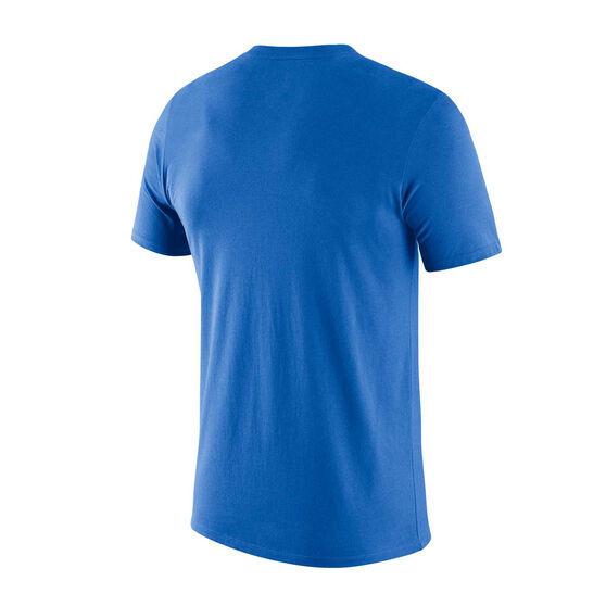 Oklahoma City Thunder Mens Dry Logo Tee, Blue, rebel_hi-res