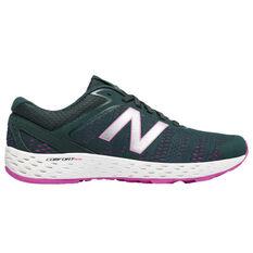 New Balance 520 Womens Running Shoes Grey / Pink US 6, Grey / Pink, rebel_hi-res