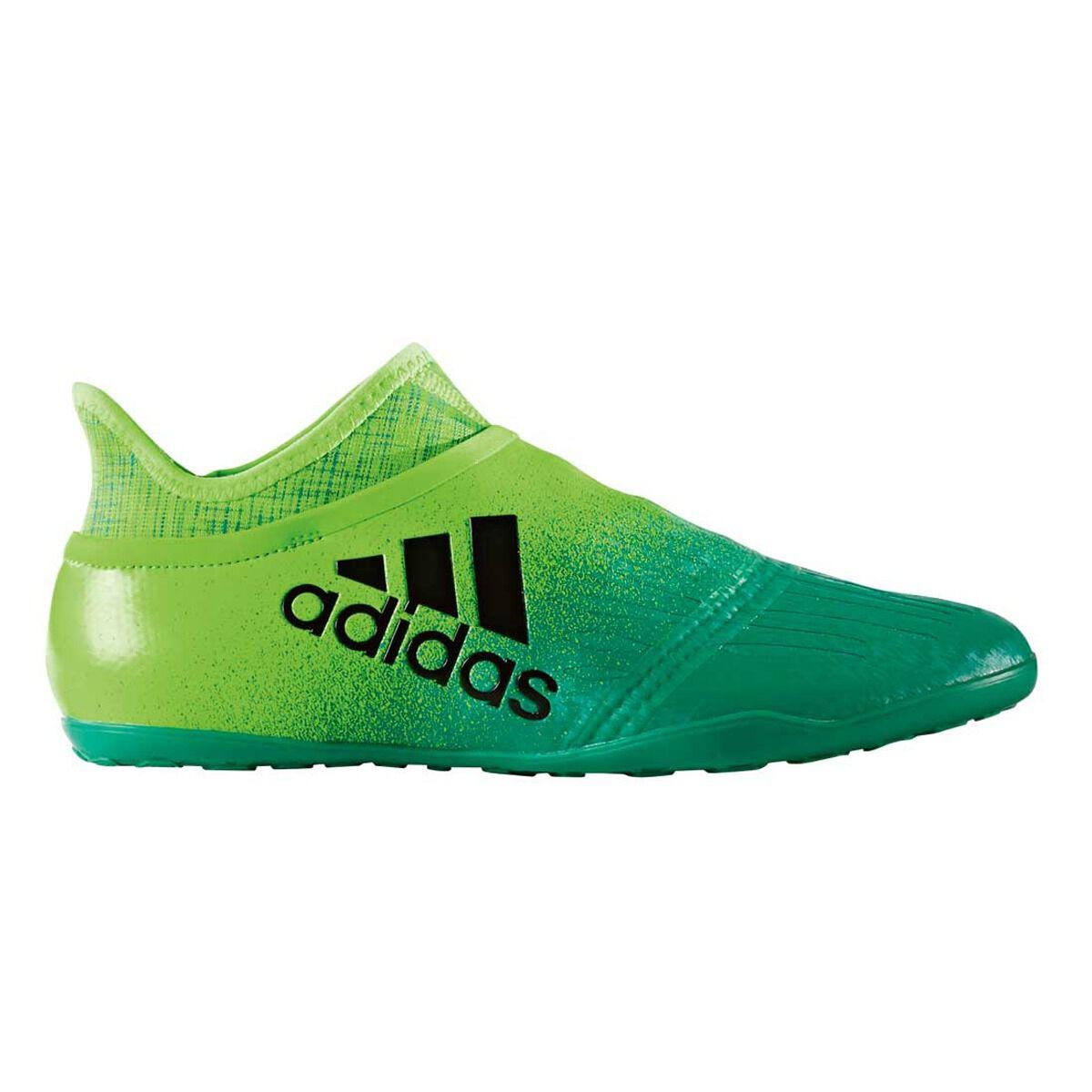 adidas X Tango 16 Purespeed Indoor Soccer Shoes Green / Black US 10 Adult,
