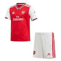 Arsenal FC 2019/20 Infants Home Kit Red / White 2-3, Red / White, rebel_hi-res