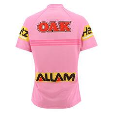 Penrith Panthers 2021 Womens Away Jersey Pink 8, Pink, rebel_hi-res