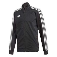 adidas Mens Tiro 19 Training Jacket Black / White S, Black / White, rebel_hi-res