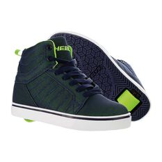 Heelys Uptown Boys Shoes Navy / Lime US 1, Navy / Lime, rebel_hi-res