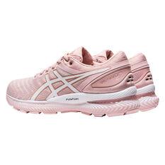 Asics GEL Nimbus 22 Womens Running Shoes, Pink/White, rebel_hi-res