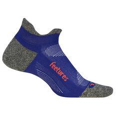 Feetures Elite Cushion No Show Tab Socks Purple M, Purple, rebel_hi-res