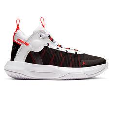 Nike Jordan Jumpman 2020 Kids Basketball Shoes White / Black US 4, , rebel_hi-res