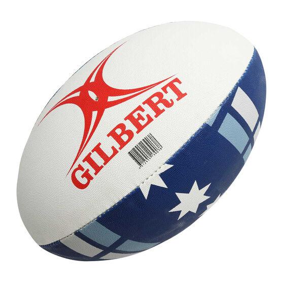 Gilbert Rebels Supporter Rugby Ball, , rebel_hi-res