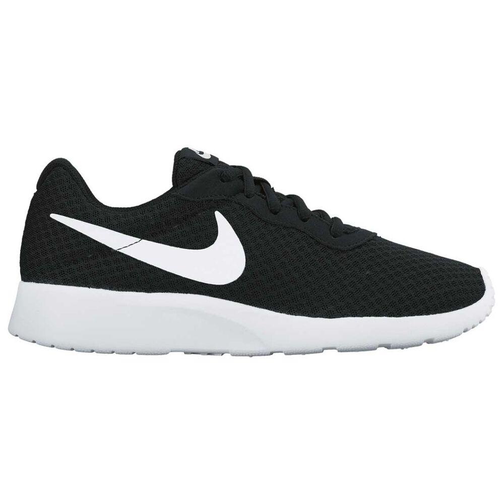 591f40cd4f6 Nike Tanjun Womens Casual Shoes Black   White US 6