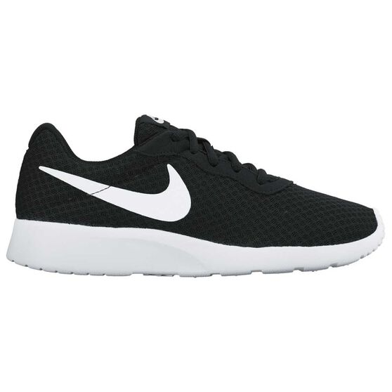 arriving best choice affordable price Nike Tanjun Womens Casual Shoes Black / White US 7