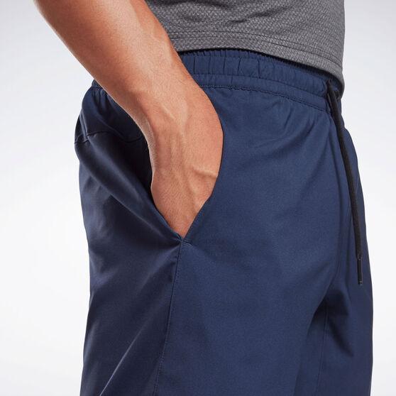Reebok Mens Workout Ready Woven Shorts, Navy, rebel_hi-res