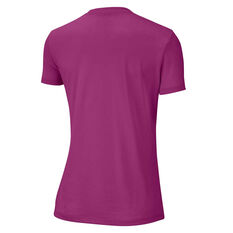 Nike Womens Dri-FIT Legend Training Tee Pink XS, Pink, rebel_hi-res
