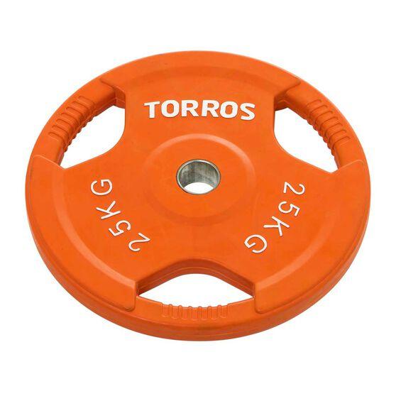 Torros 25kg Olympic Plate, , rebel_hi-res