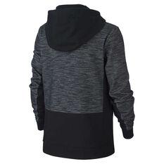 493e40175 ... rebel hi Nike Boys Full Zip Advance Hoodie Black   Grey XS