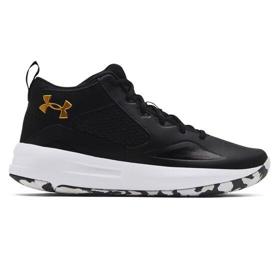 Under Armour Lockdown 5 Basketball Shoes, Black, rebel_hi-res