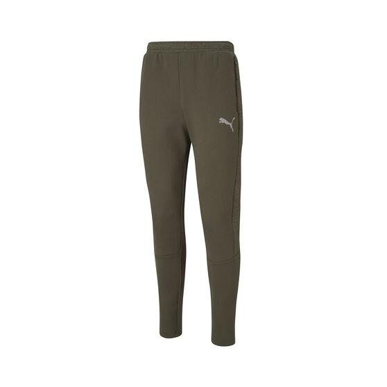 Puma Mens Evostripe Pants, Green, rebel_hi-res