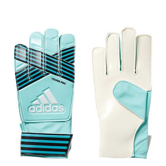 adidas Ace Pro Youth Gloves, Blue / Aqua, rebel_hi-res